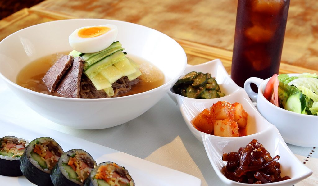 水冷麺セット